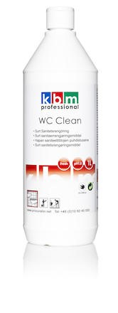 Sanitetsrent KBM WC Clean fresh 1L