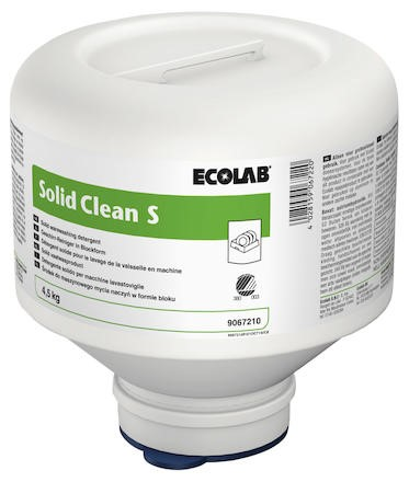 Ecolab solid clean