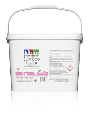 Tvättmedel KBM Sun Eco Color Sensitive free 5kg